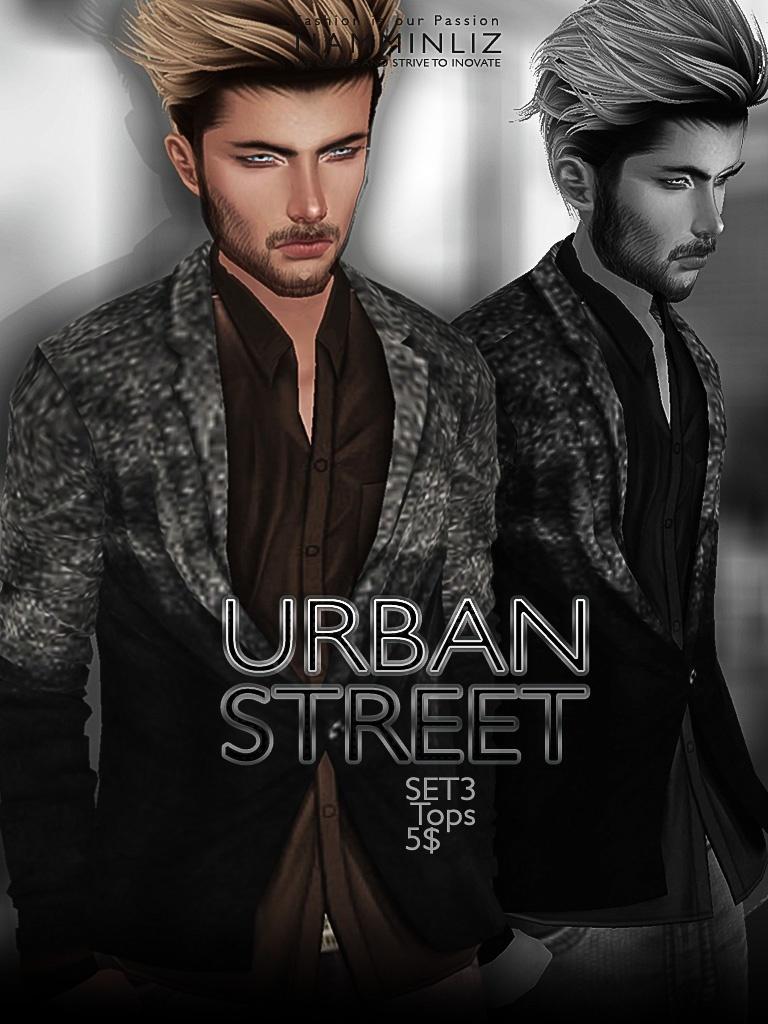 URBAN STREET SET3 imvu JPG texture File sale NAMMINLIZ