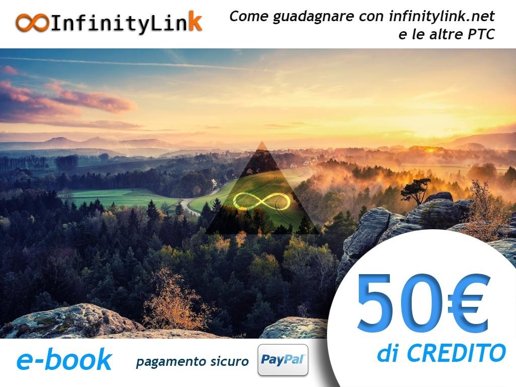 InfinityLink.Net - 50 € di credito + e-book