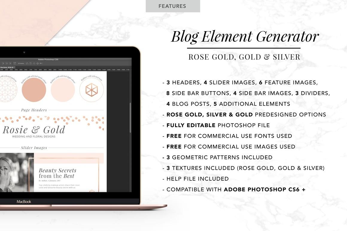 Blog Element Generator