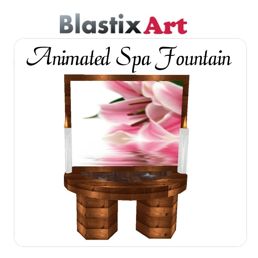Animated Spa Fountain