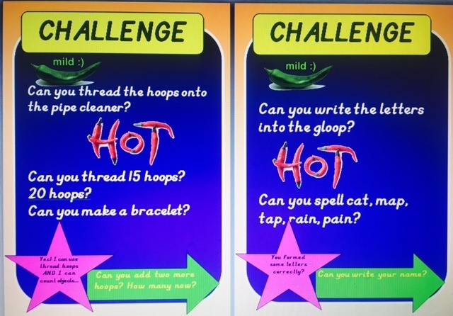 Chilli Challenge Ideas - FREEBIE - simply select 0p in price section