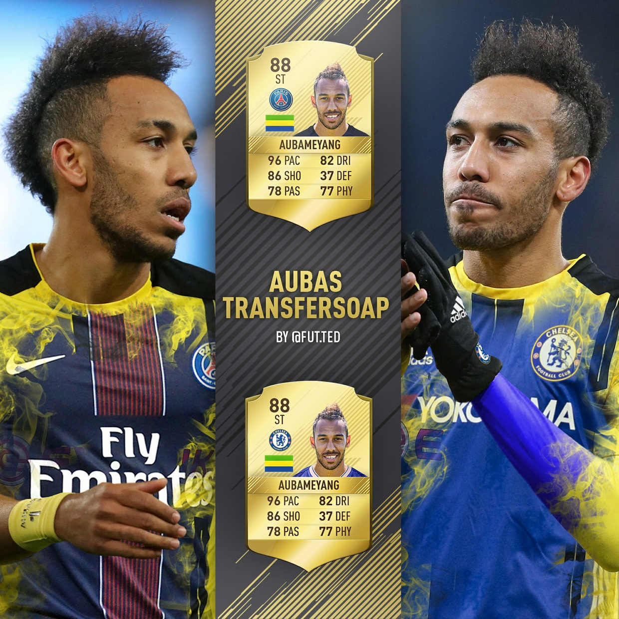 FIFA 18 INSTAGRAM STYLE TEMPLATE