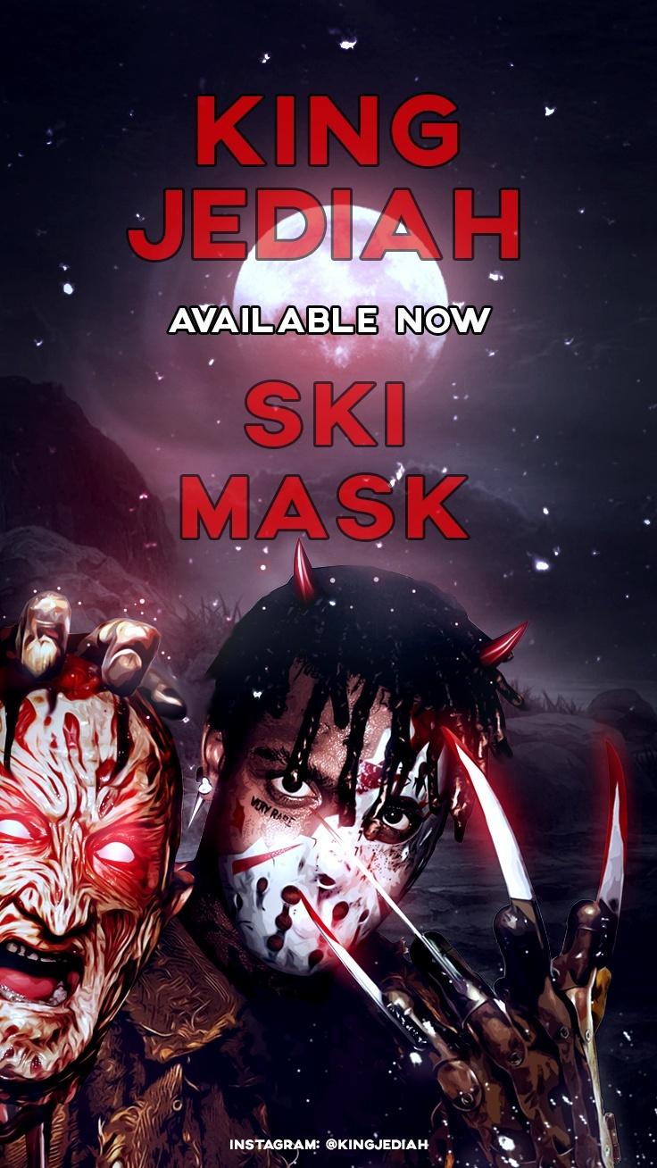 "Ski Mask ""Freddy vs Jason"" Phone Wallpaper"