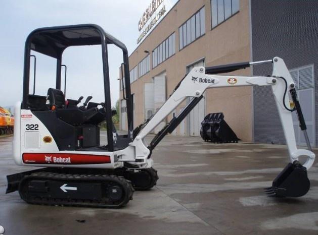 Bobcat X320, X322 Hydraulic Excavator Service Repair Manual (S/N 562313001 , 517811001 & Above)