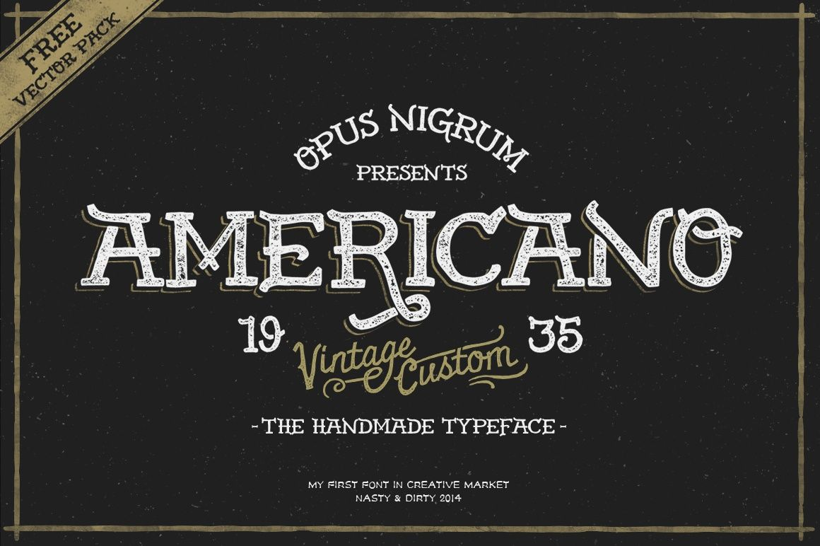 Americano Font
