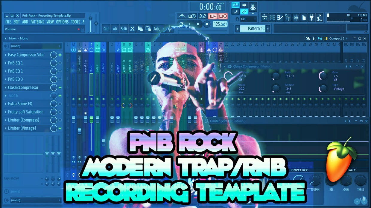PnB Rock Modern Trap RnB Recording Template