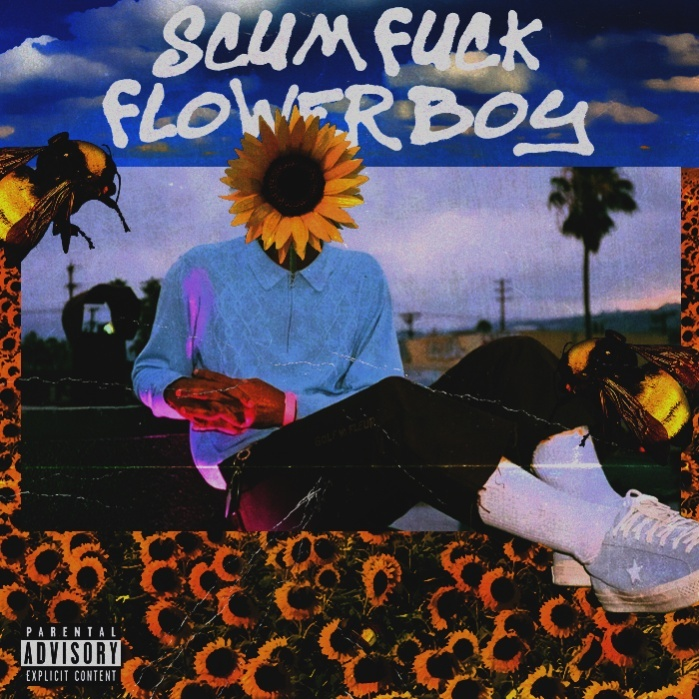 SCUM FUCK FLOWER BOY BY TYLER, THE CREATOR PSD