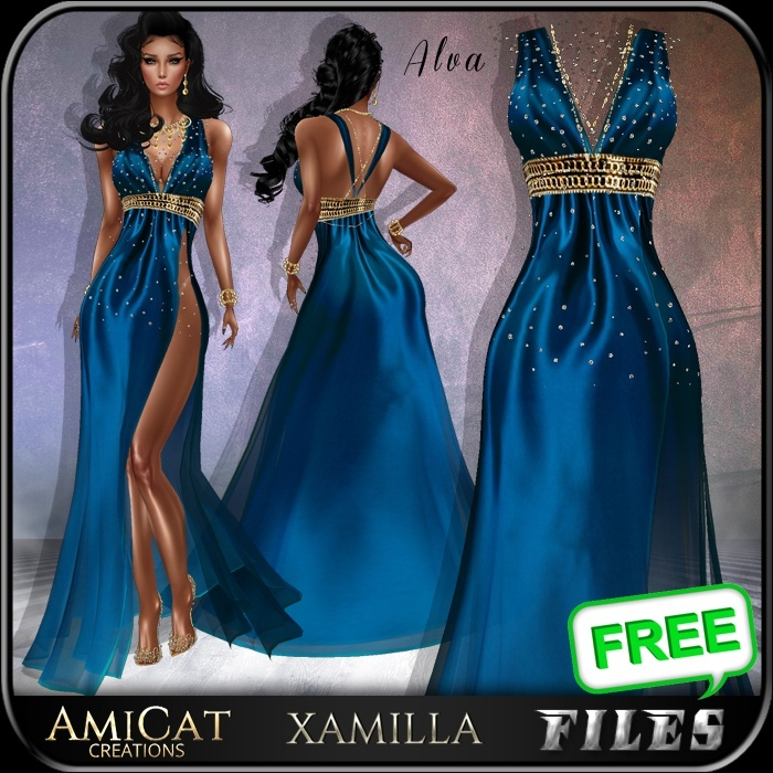 AmiCat IMVU FREE ALVA (for xamilla meshes only)