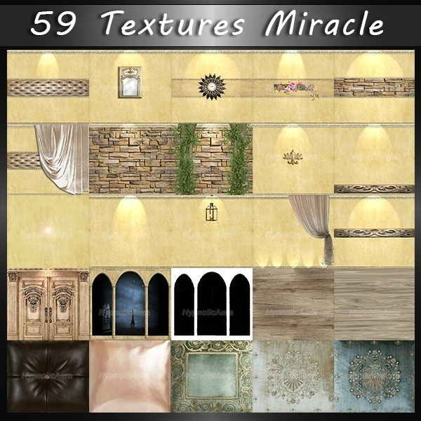 OFFER-SWEET LOVE&MIRACLE-99 TEXTURES