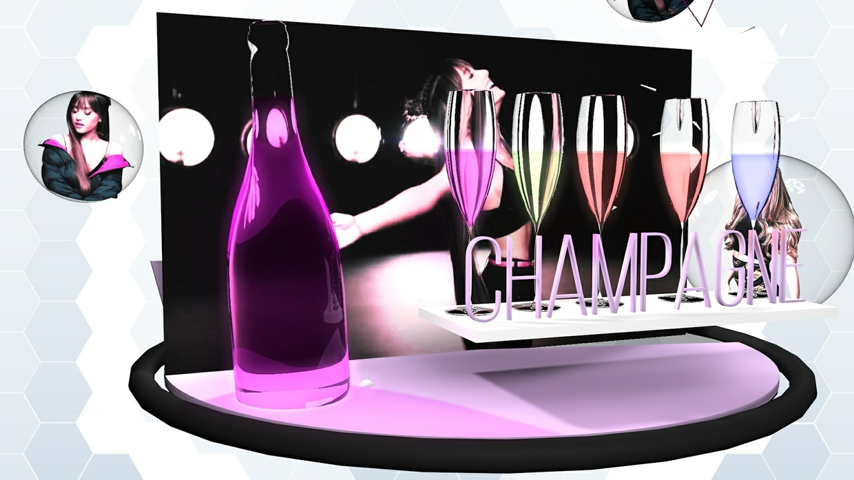 pink champagne project file