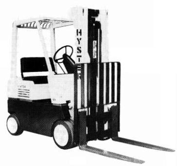 Hyster IC Engined Forklift Truck D002 Series: S30E, S40E, S50E, S60ES Workshop Service Manual