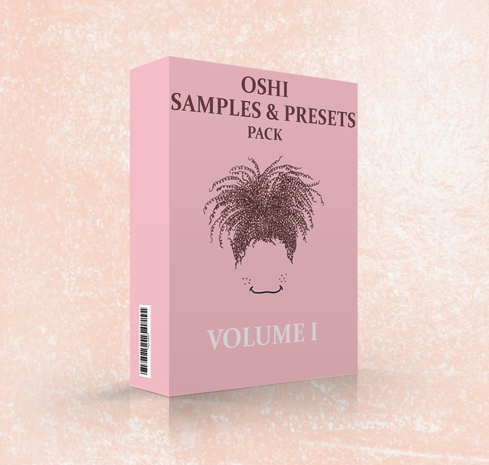 [Sample & Preset Pack] Oshi Style / vol.1 (On Sale)