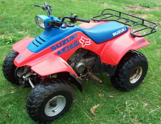 SUZUKI LT160E QuadRunner 160 ATV SERVICE REPAIR MANUAL 1990-1992 DOWNLOAD