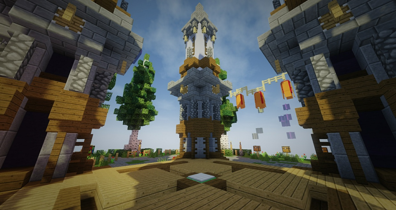 Medieval SkyBlock Spawn