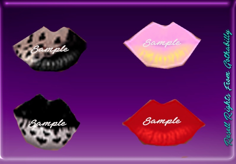 Halloween Lips Exclusive Catty Only!!!!