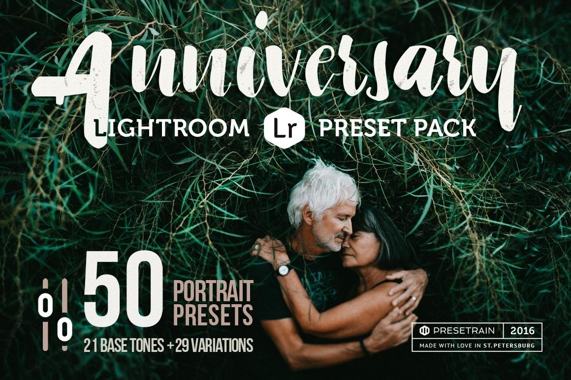 Anniversary Set - 50 Lightroom Presets