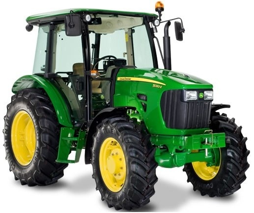 John Deere 5083E and 5093E Tractors Diagnosis and Tests Service Manual (TM607119)