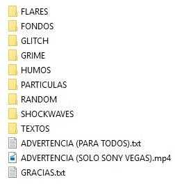 Pack VFX (Jacar)