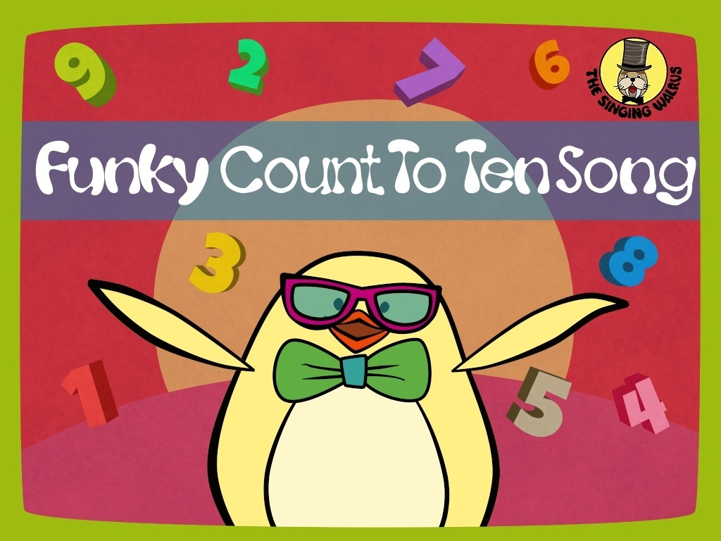 Funky Count to Ten Song Video (mp4)