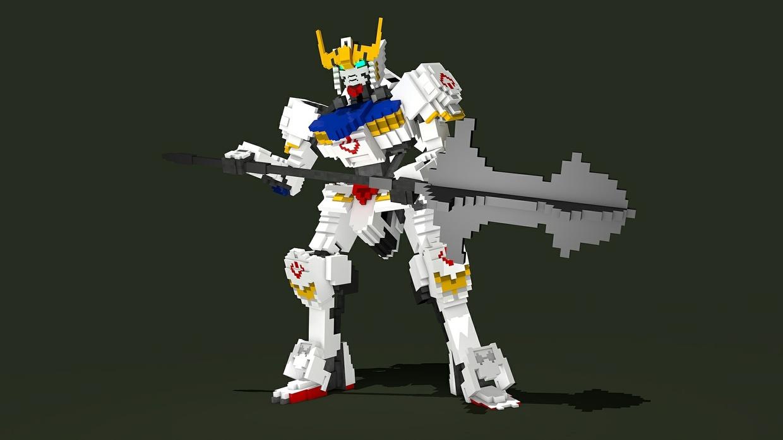 MC Gundam Barbatos Rig (IronBloodedOrphans)(#FD)