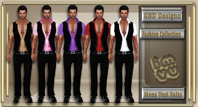 Men's Vest Suits CATALOG ONLY!!