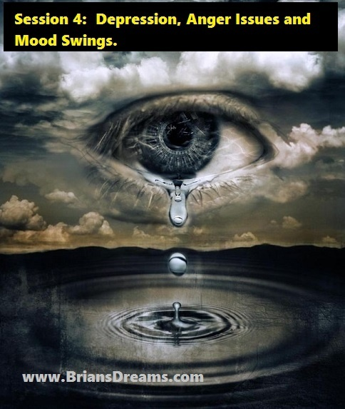 Depression, Anger Issues, and Mood Swings, Overnight Miracle Cures by Psychic Brian Ladd : Session 4