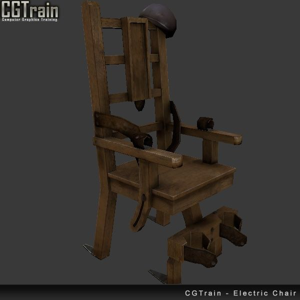 Electric Chair - 3D asset for games
