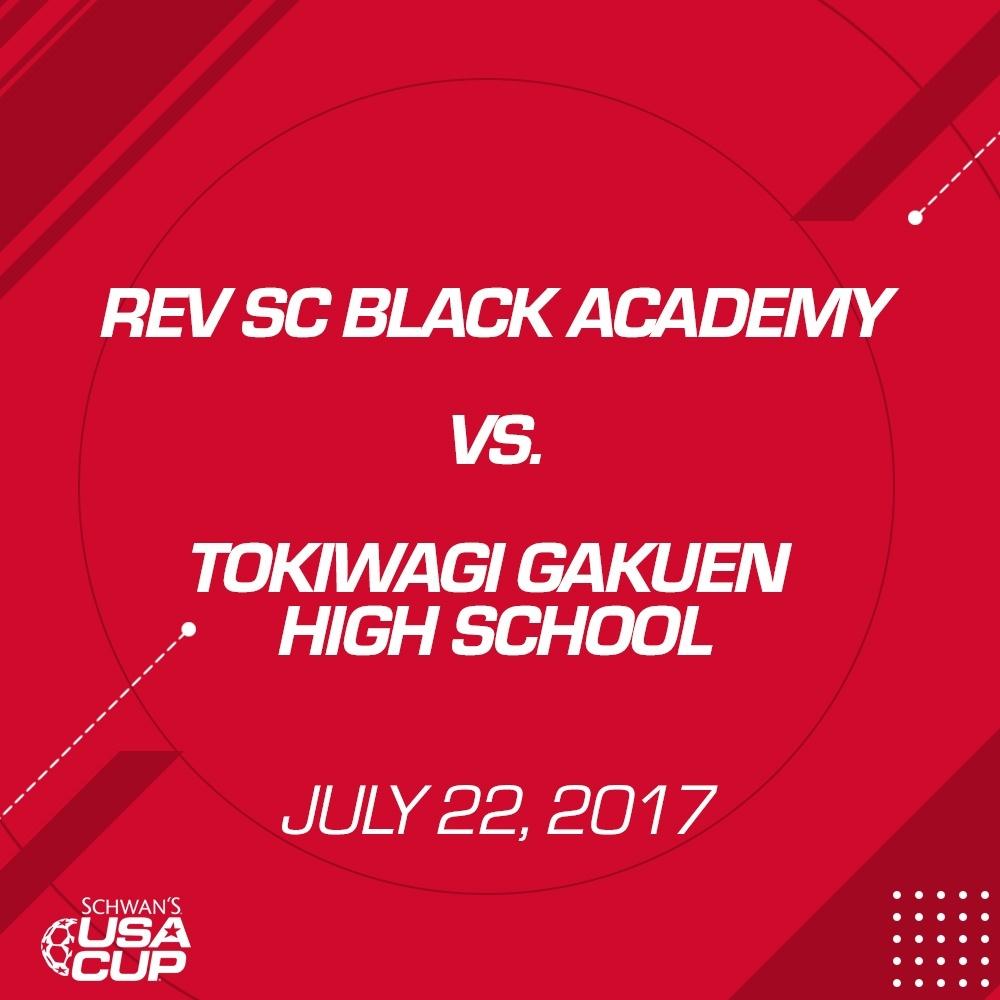 Girls U19 Gold Final - July 22, 2017 - Tokiwagi Gakuen High School vs Rev SC Academy Black