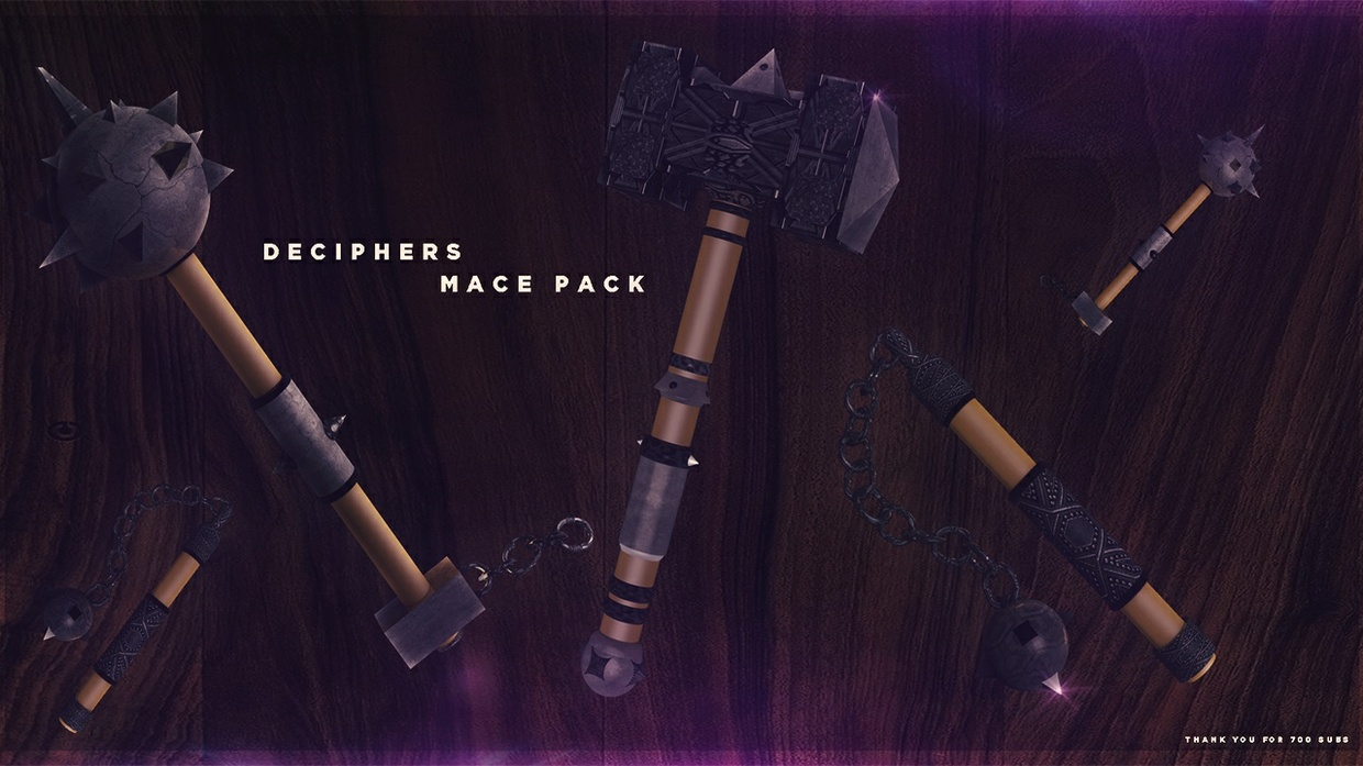 Deciphers Mace Pack [FREE]
