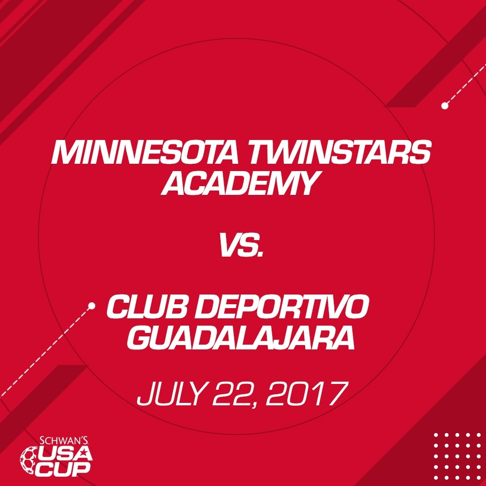 Boys U14 Gold - July 22, 2017 - Minnesota TwinStars Academy vs Club Deportivo