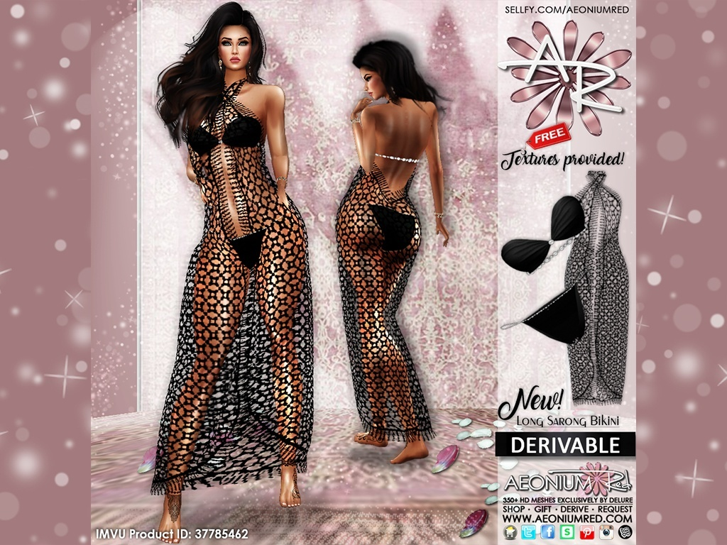 Imvu Freebie: Long Sarong & Bikini Files
