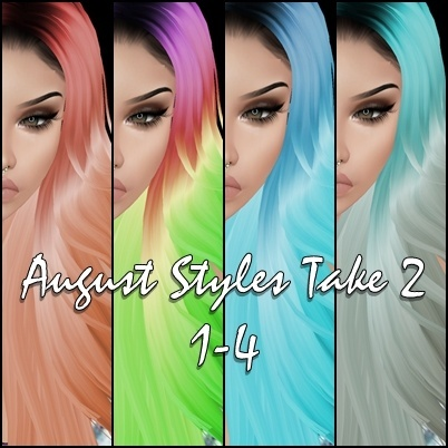 August Styles 2 - 12 + 4 free textures not shown in pictures.