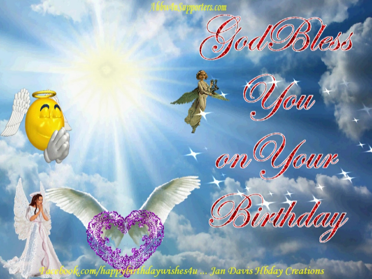 God Bless You Hbday Wishes