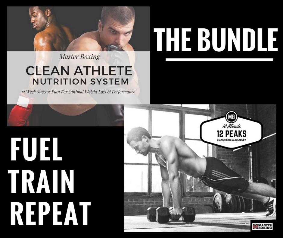 12 PEAKS & CLEAN ATHLETE NUTRITION SYSTEM BUNDLE