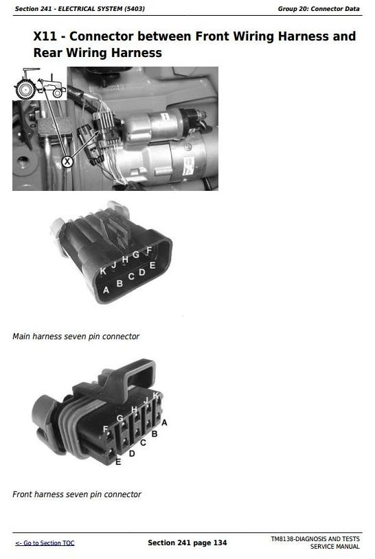 John Deere 5403, 5600, 5603, 5605, 5700, 5705 Tractors Diagnosis and Tests Service Manual (TM8138)