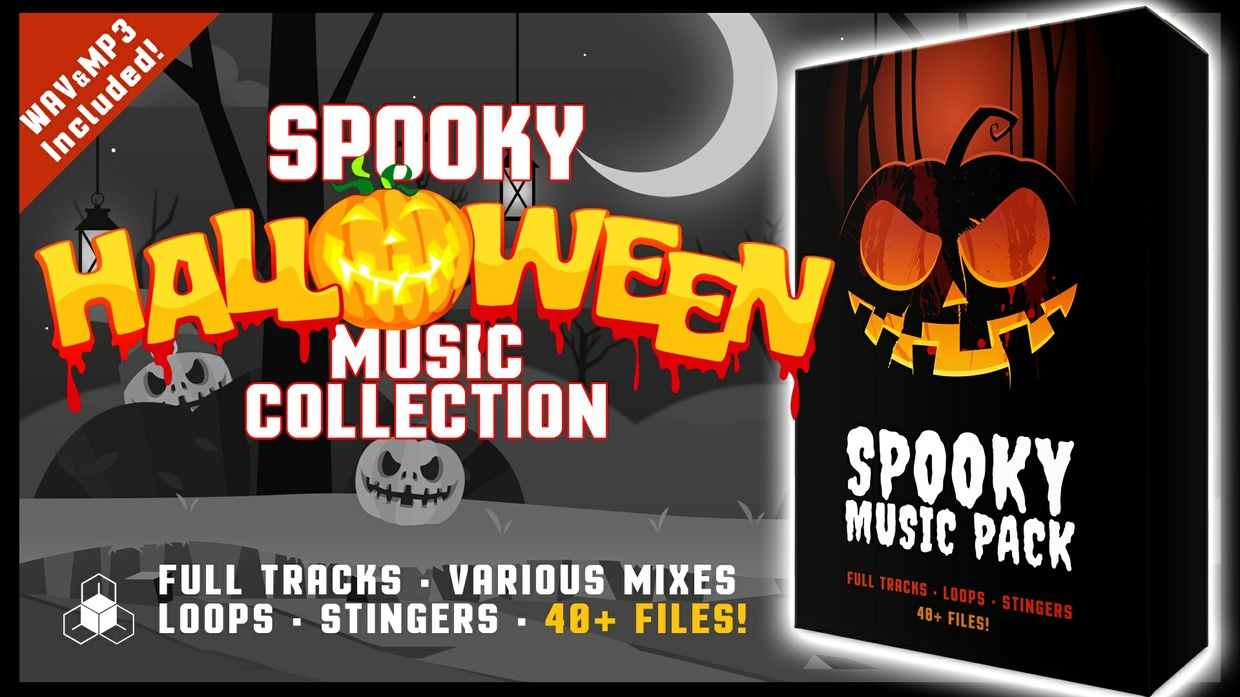 HALLOWEEN MUSIC PACK - Royalty Free Spooky Music