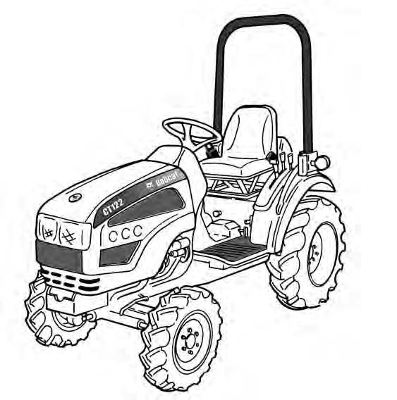 Bobcat CT122 Compact Tractor Service Repair Manual Download