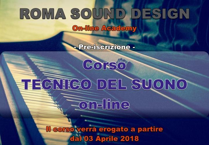 Pre-iscrizione corso Tecnico del suono & Pro Tools 12 on-line