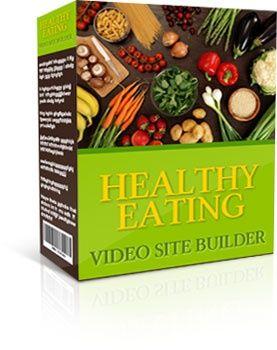Healthy Eating Site Builder