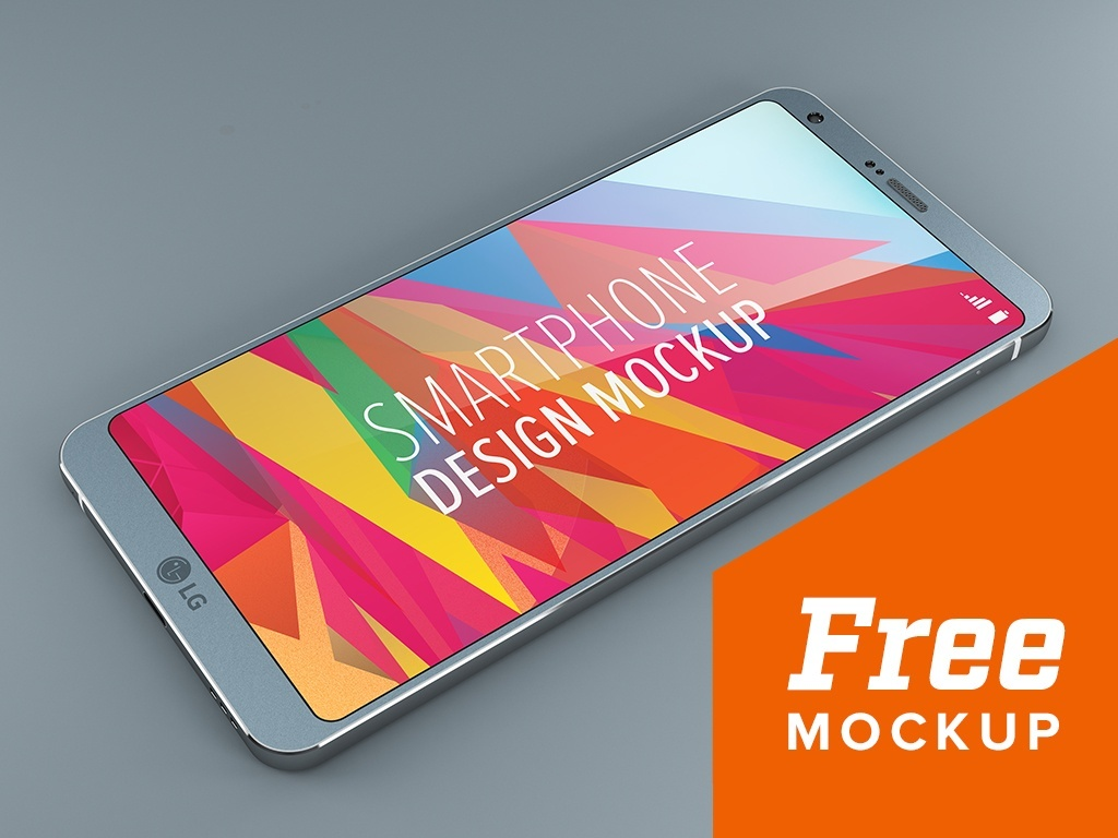 Android Smart Phone Design Mockup