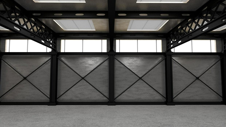 Hangar - Blender 3D model