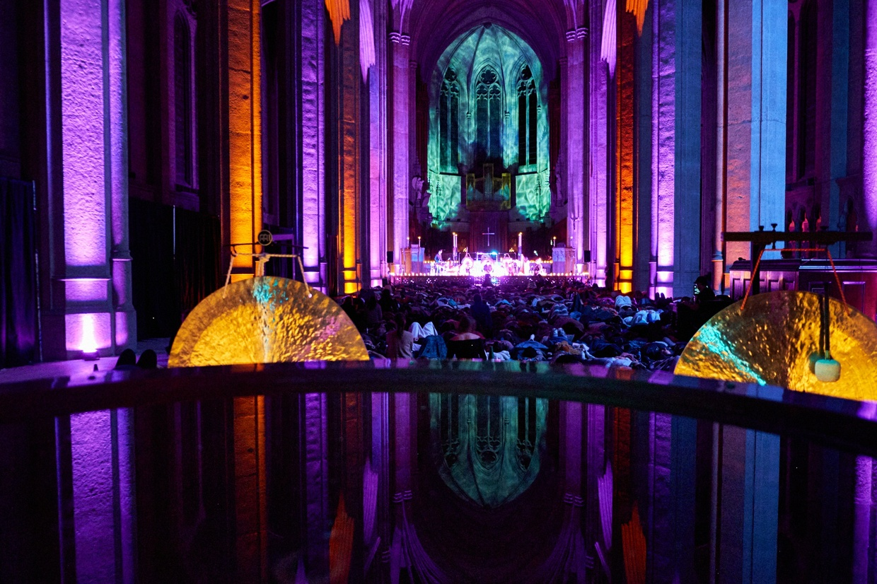 The Sound Healing Symphony at Grace Cathedral February 2018