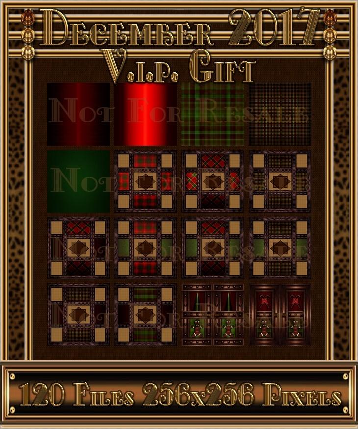 DECEMBER V.I.P. GIFT 2017