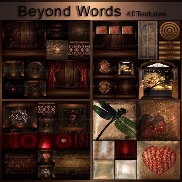 [j]Beyond Words Texture Pack