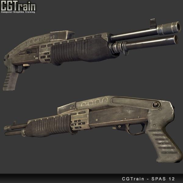 Special Purpose Automatic Shotgun – SPAS 12