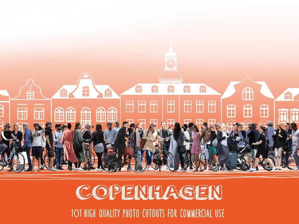 COPENHAGEN - 101 Photo Cutouts