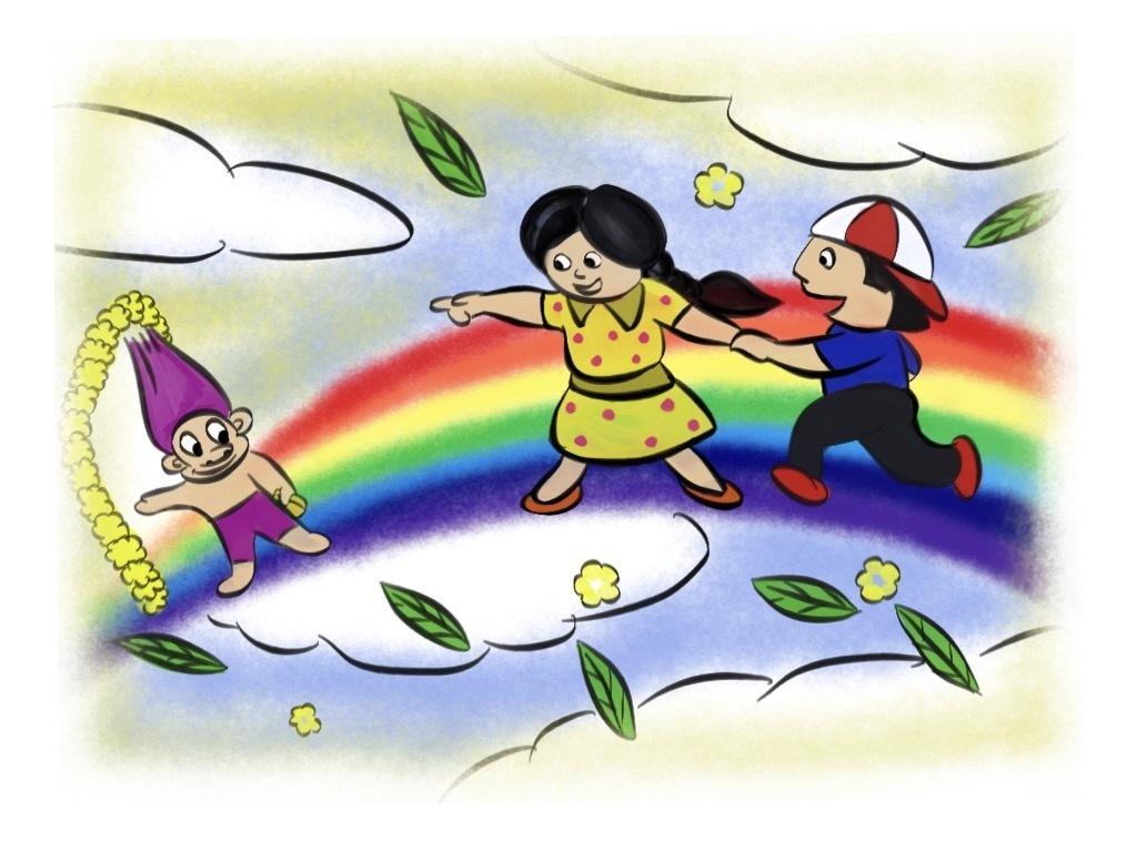 Running on the Rainbow