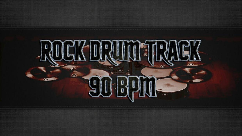 Rock Drum Track 90 BPM - Commercial