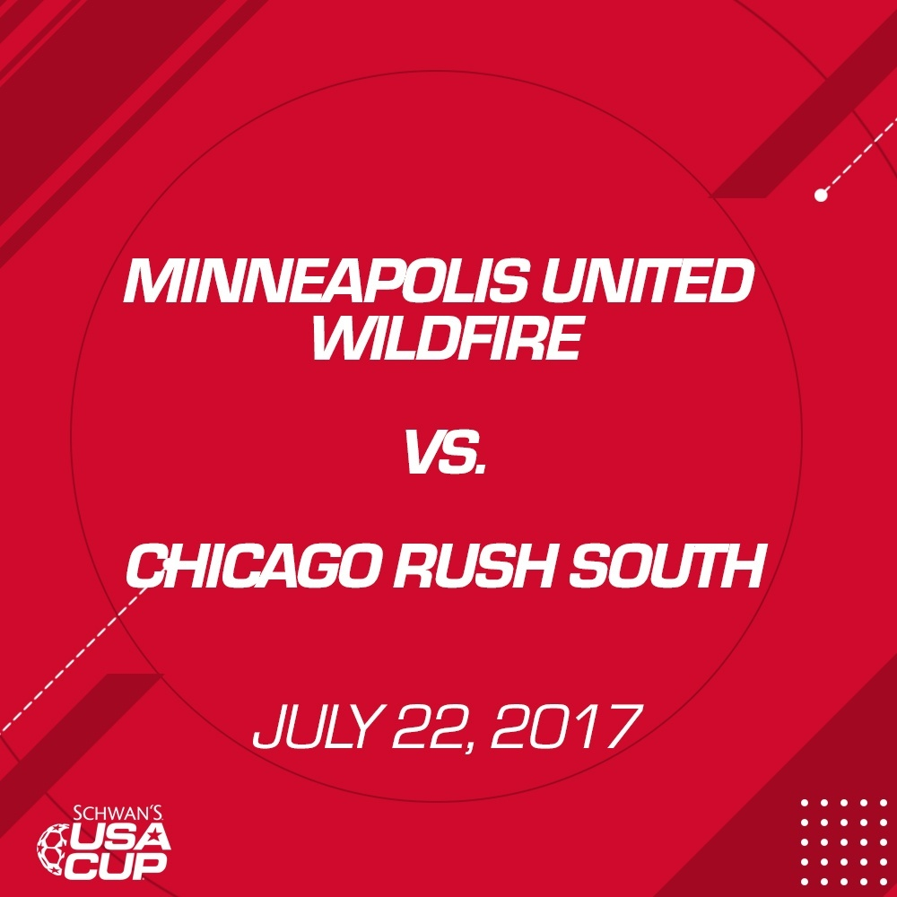 Boys U16 Gold - July 22, 2017 - Minneapolis United Wildfire vs Chicago Rush