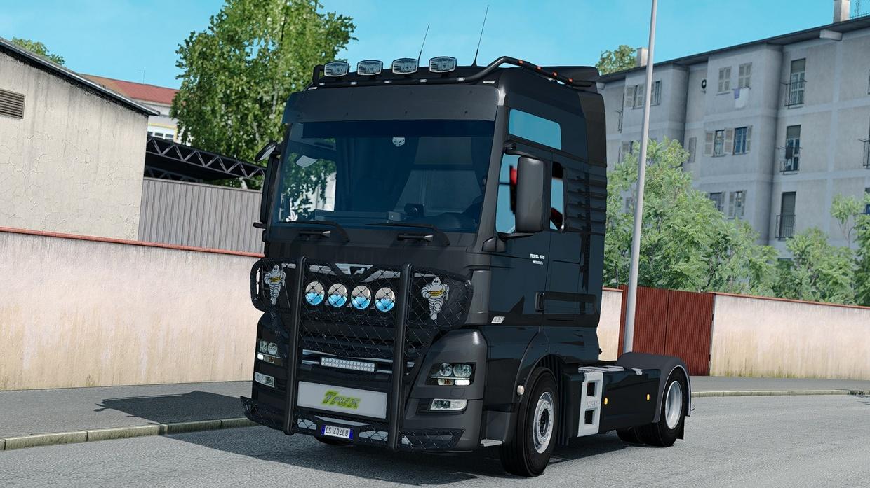 Bullbar Trux HighWay MAN TGX-S By Alang7
